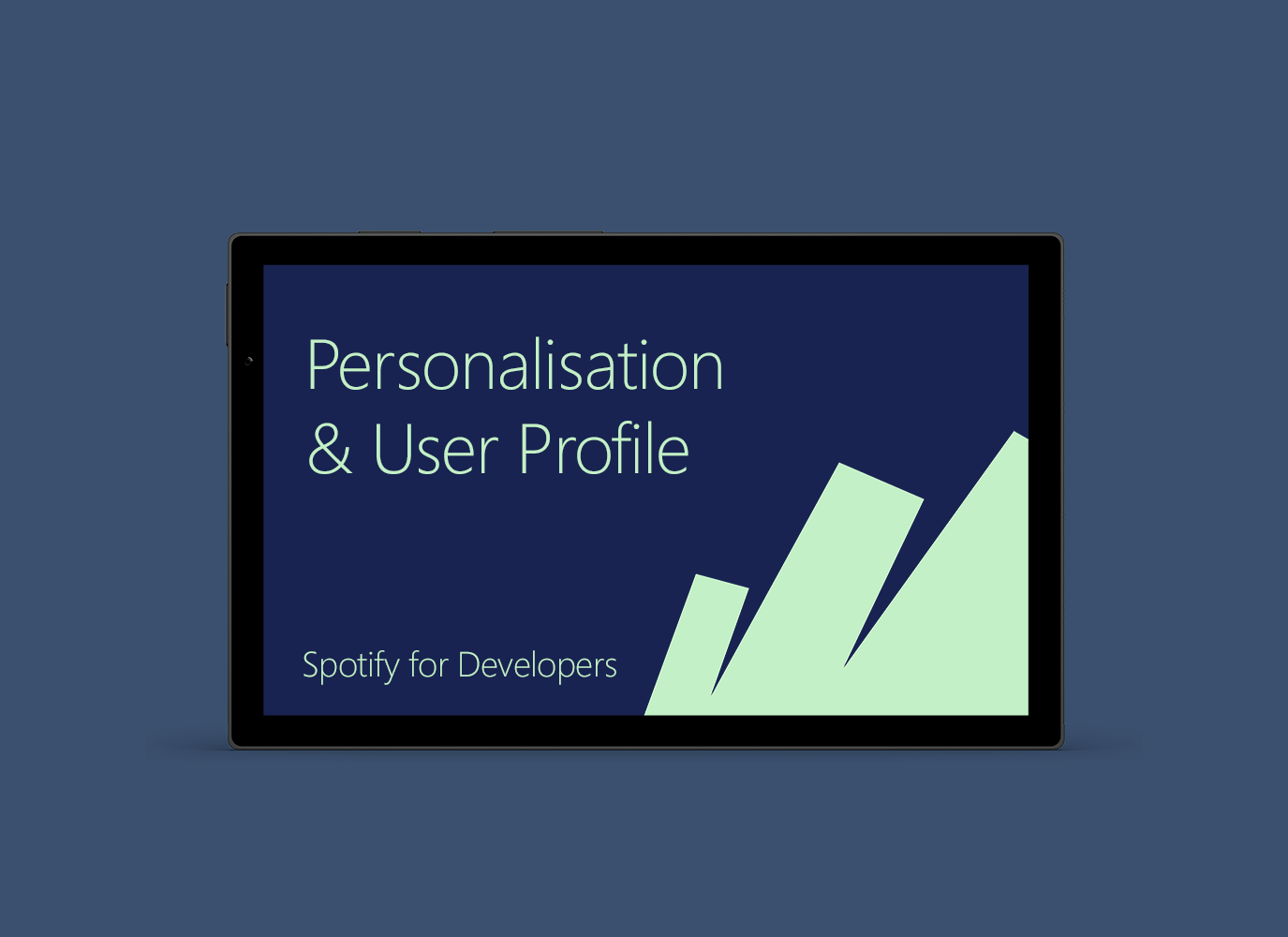 Personalisation & User Profile